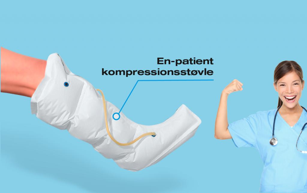 CC En-patient kompressionsstøvle